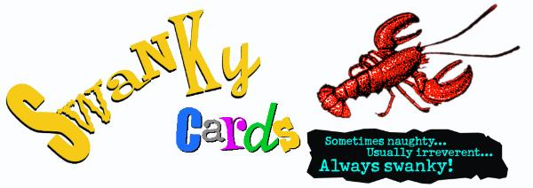 Swanky lobster cards naughty irreverent and always swanky m4hsunfo